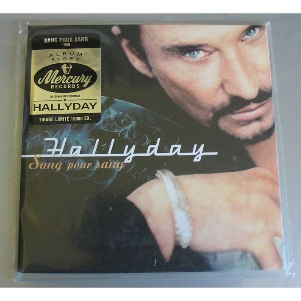 JOHNNY HALLYDAY SANG POUR SANG TIRAGE LIMITE PAPERSLEEVE