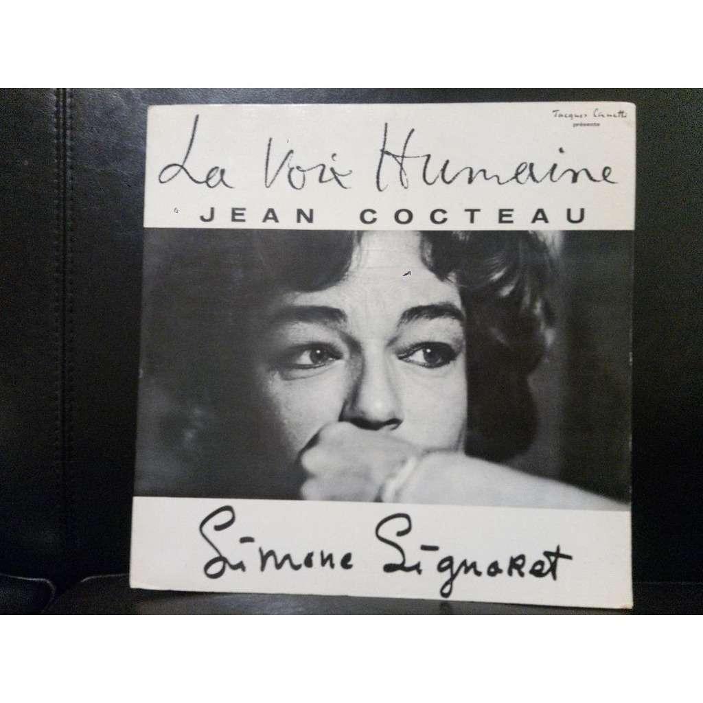 SIMONE SIGNORET / JEAN COCTEAU LA VOIX HUMAINE