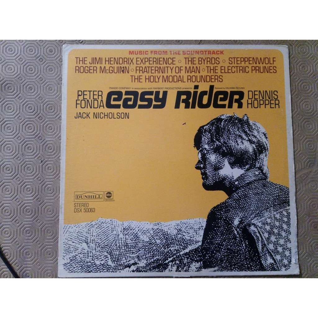hendrix jimi -byrds -steppenwolf - electric prunes easy rider ( soundtrack)
