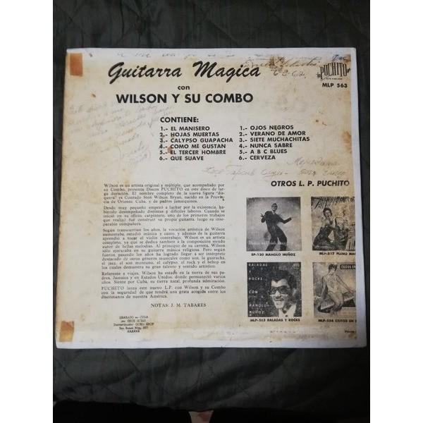 Wilson y Su Combo Guitarra Magica