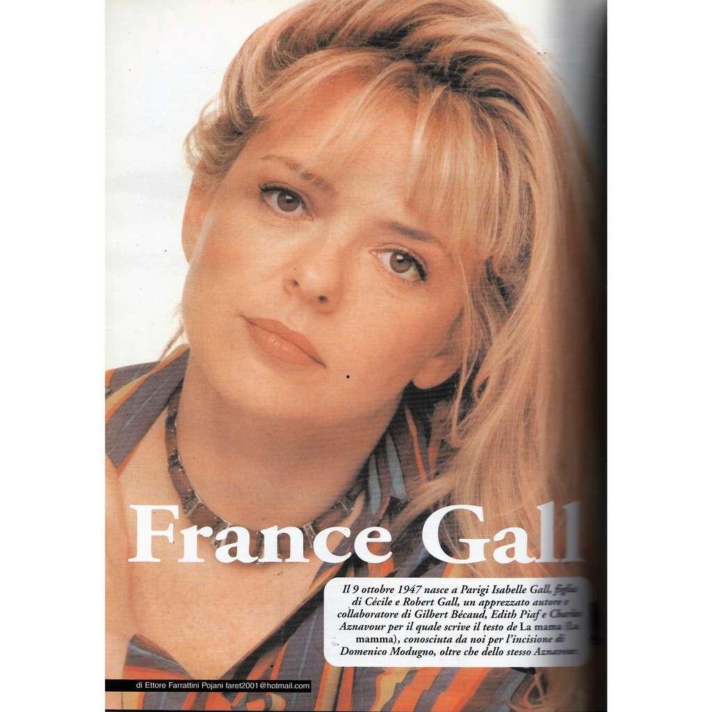 France Gall RARO! (N.142 March 2003) (Italian 2003 music collector's magazine!)