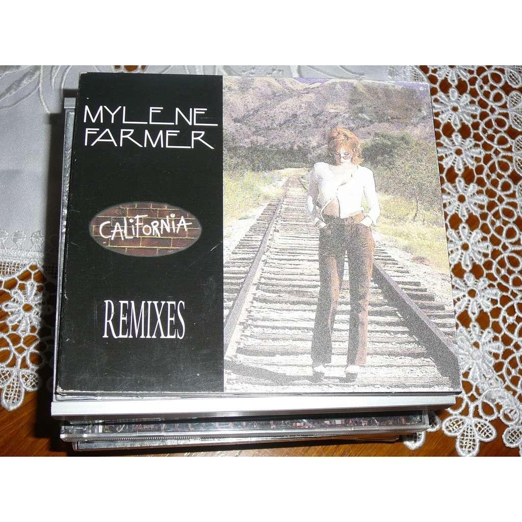 Mylene Farmer California (Remixes)