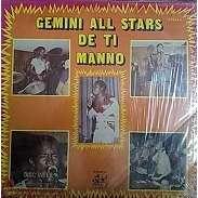 GEMINI ALL STARS DE TI MANNO l'argent / canter / vive le disco / unissons nous / hommage à bob marley