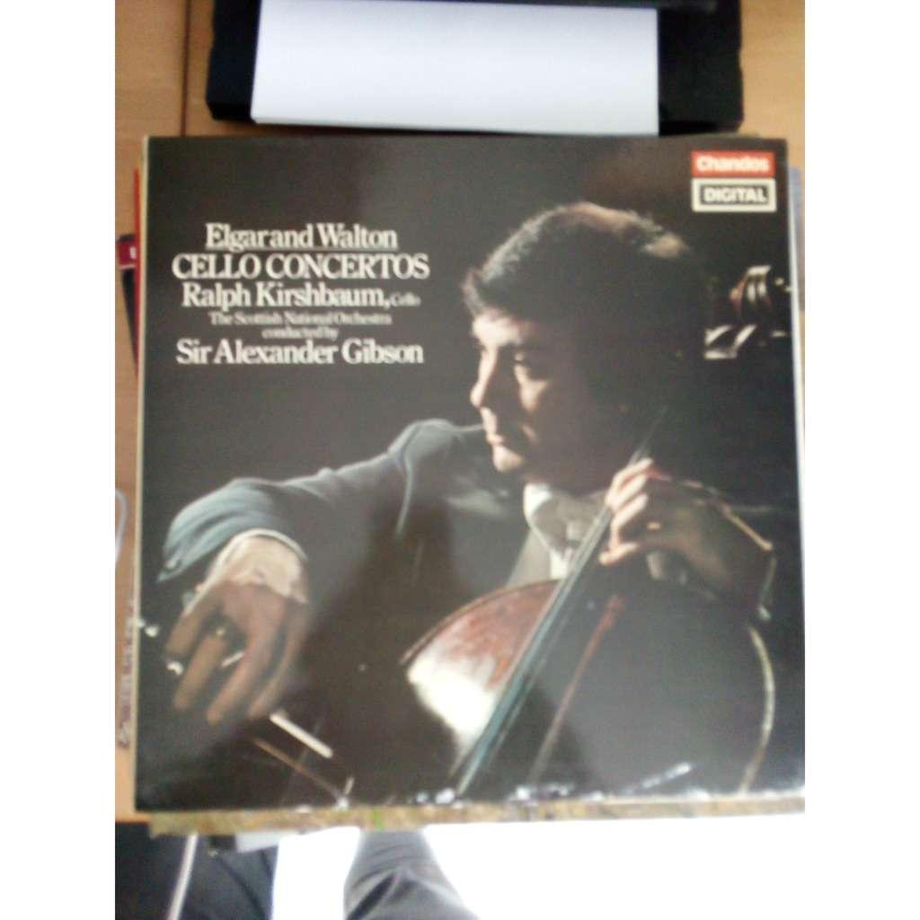 Elgar/Walton/Ralph Kirshbaum Cello concertos