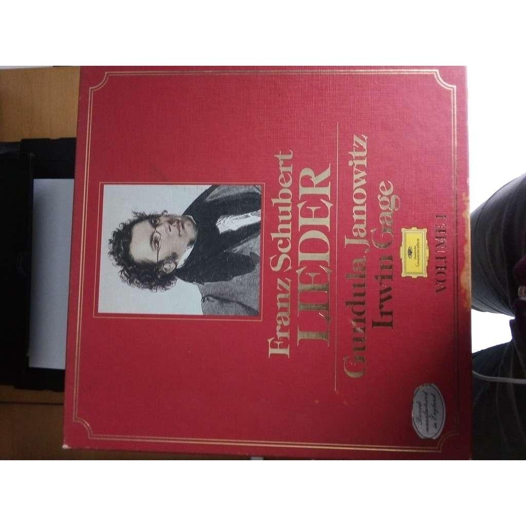 Janowitz Gundula – Irwin Cage Schubert: lieder volume 1