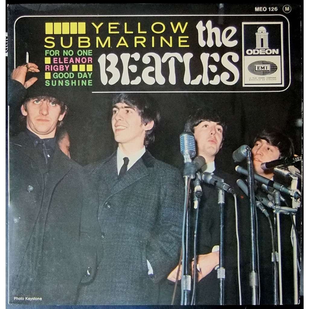 THE BEATLES yellow submarine - for no one - eleanor rigby - good day sunshine