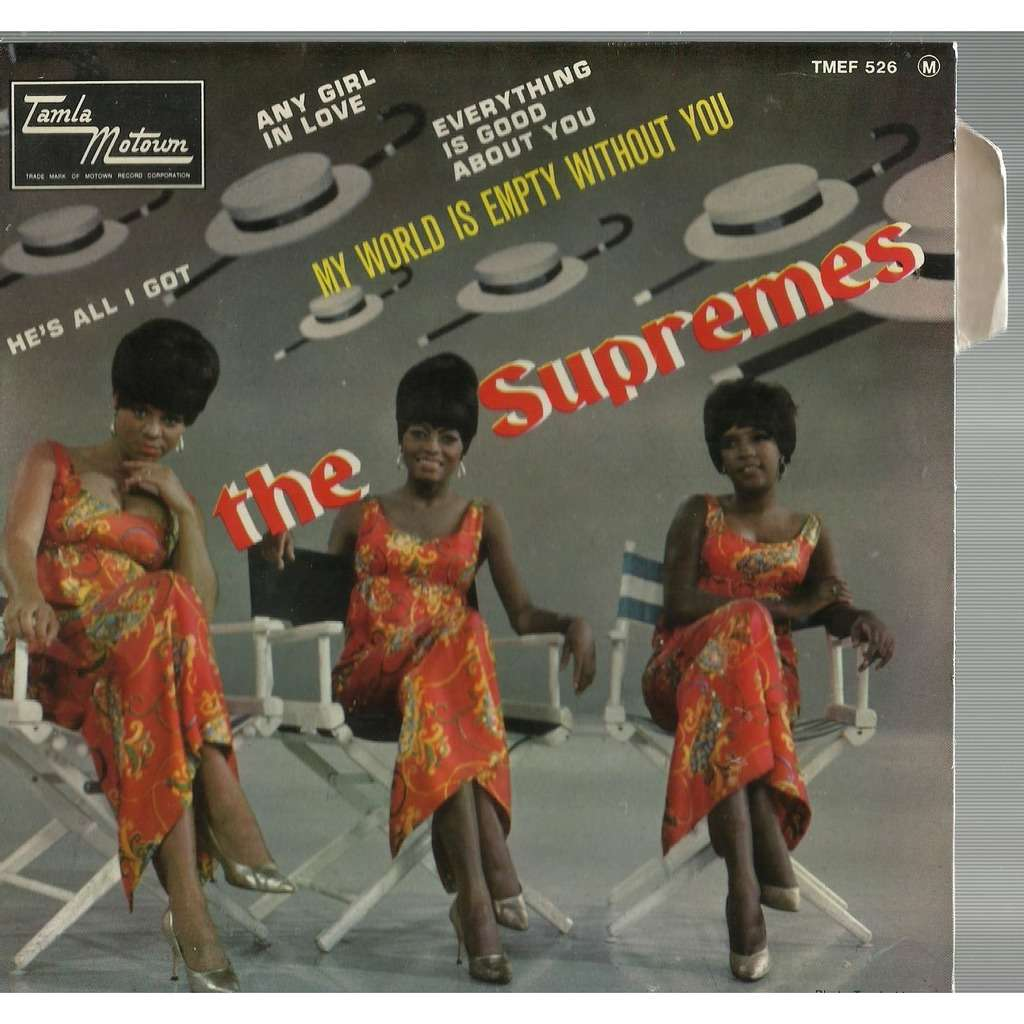 supremes my world is empty without you