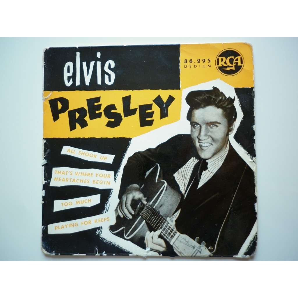 Elvis Presley All Shook Up / Too Much