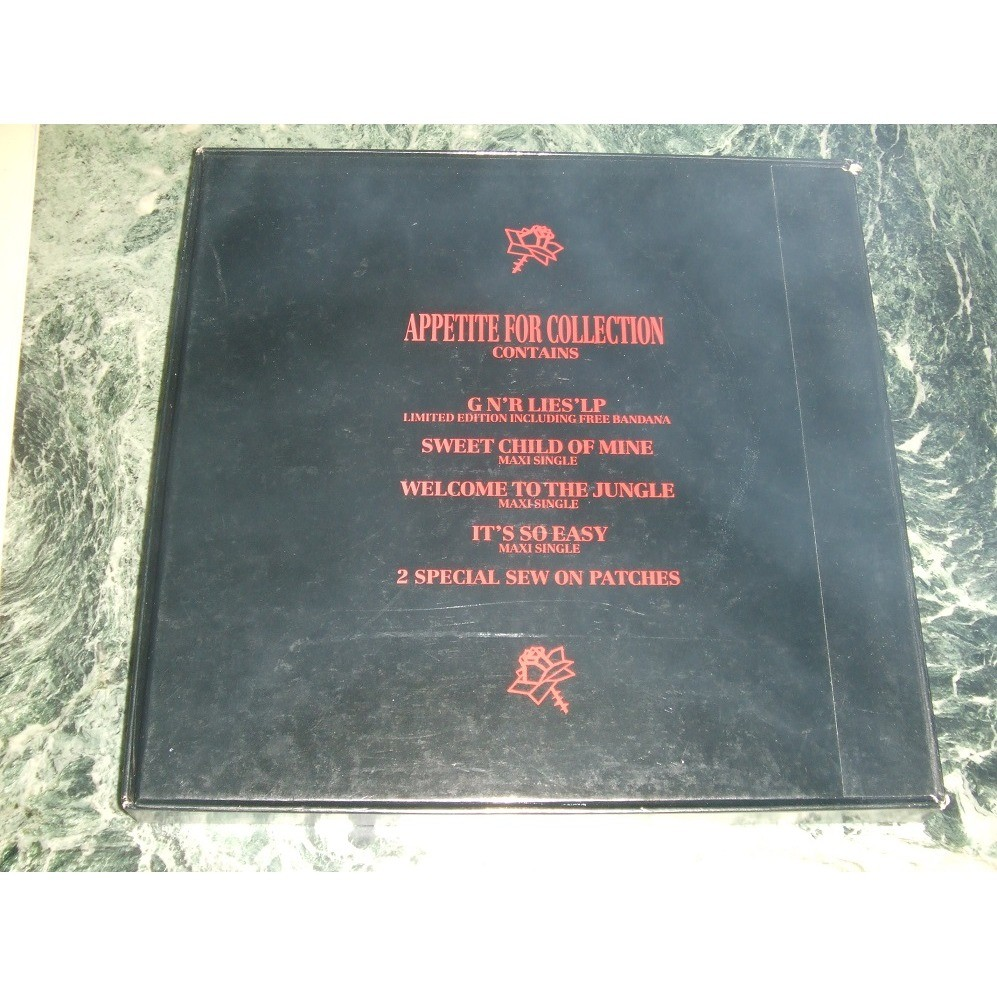 Guns N' Roses Appetite For Collection Box Set
