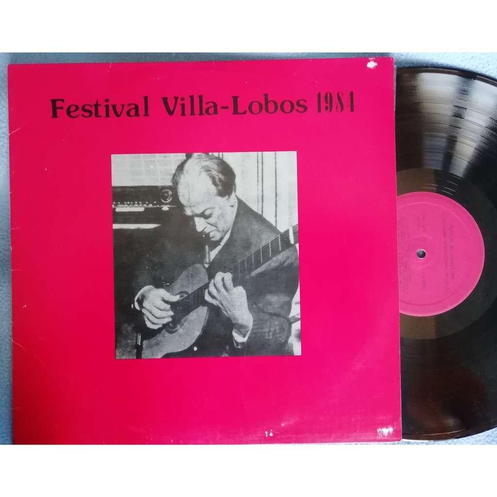 various artists festival villa lobos 1984 III concurso internacional de violao