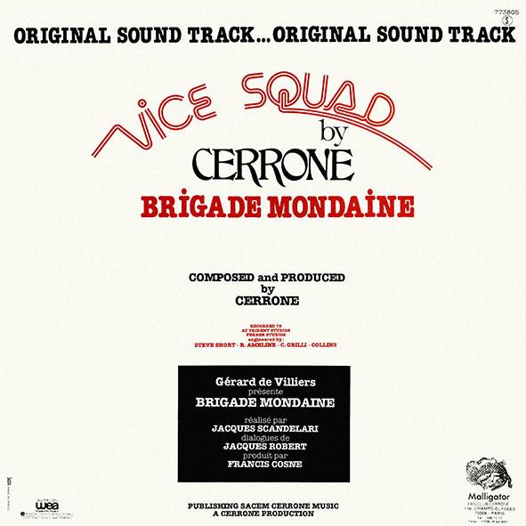 cerrone brigade mondaine - vice squad