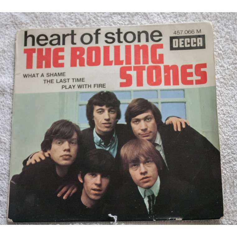 Rolling stones heart of stone cover