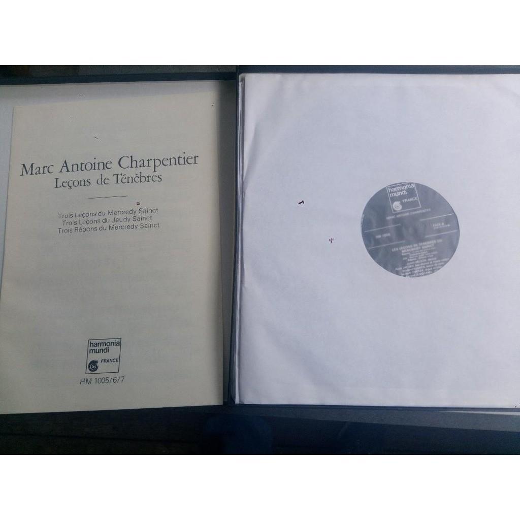 Charpentier - kuijken - w. christie - rené jacobs Lecons des Tenebres