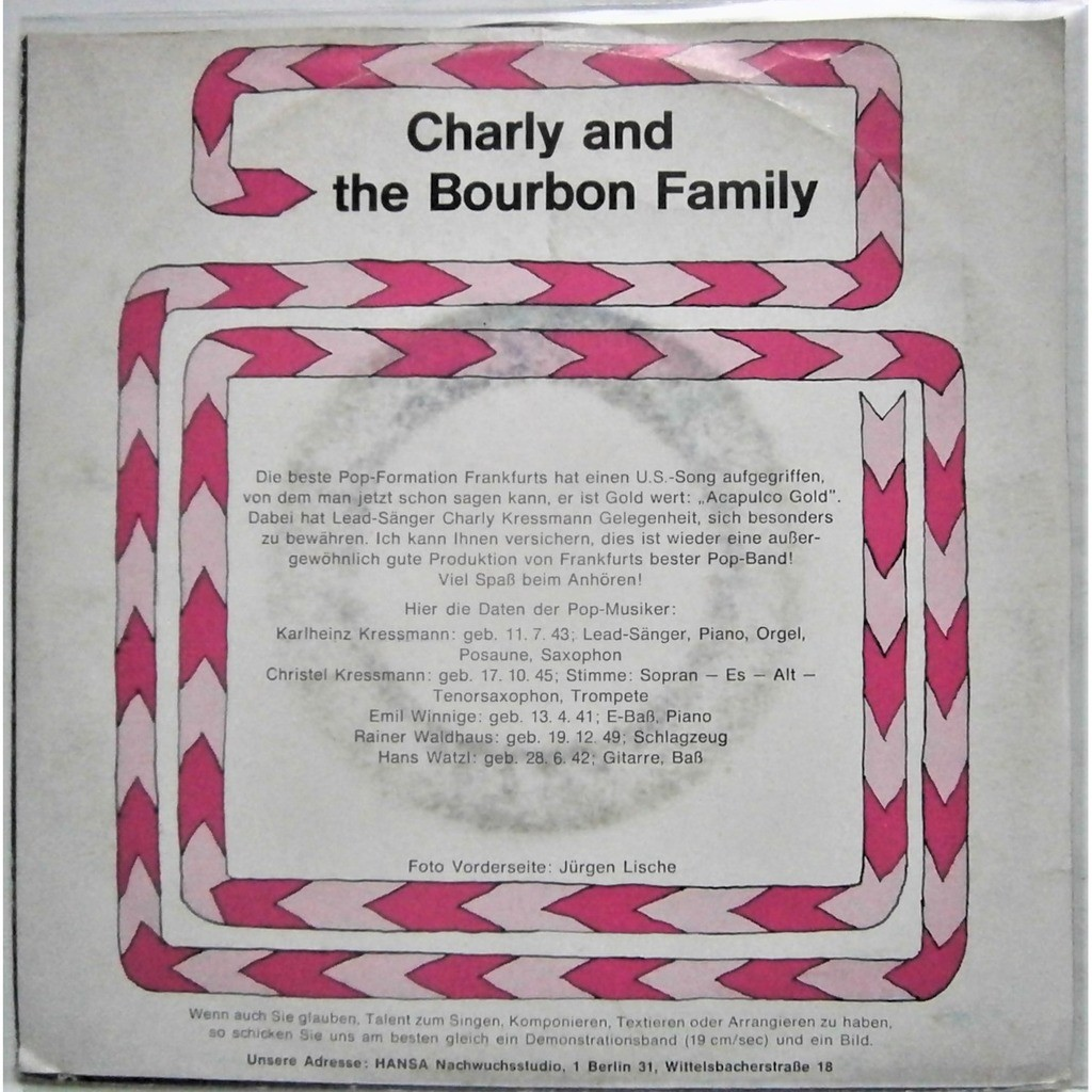 charlie and the bourbon family acapulco gold