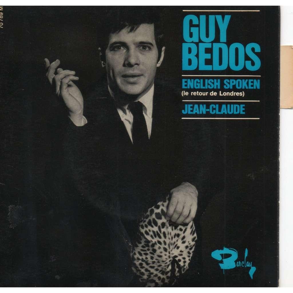 BEDOS Guy English spoken/65