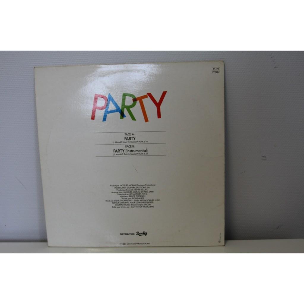 julius brown Party