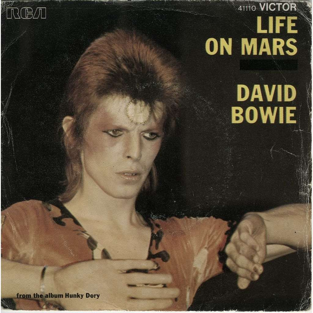 BOWIE DAVID life on mars / the man who sold the world