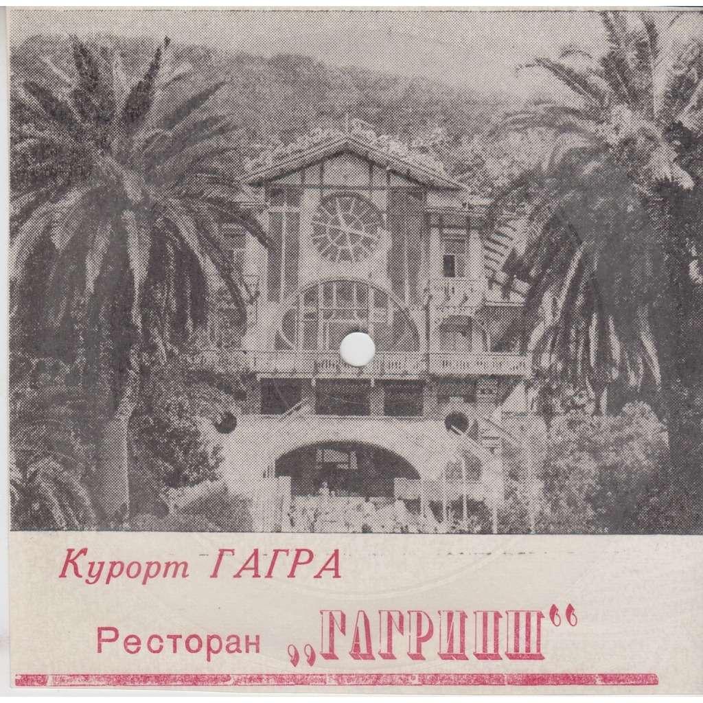 VLADIMIR VISSOTSKI CAUCASUS GAGRA Vladimir Vissotski USSR SOUND CARD PICTURE FLEXI 33rpm 5 NM