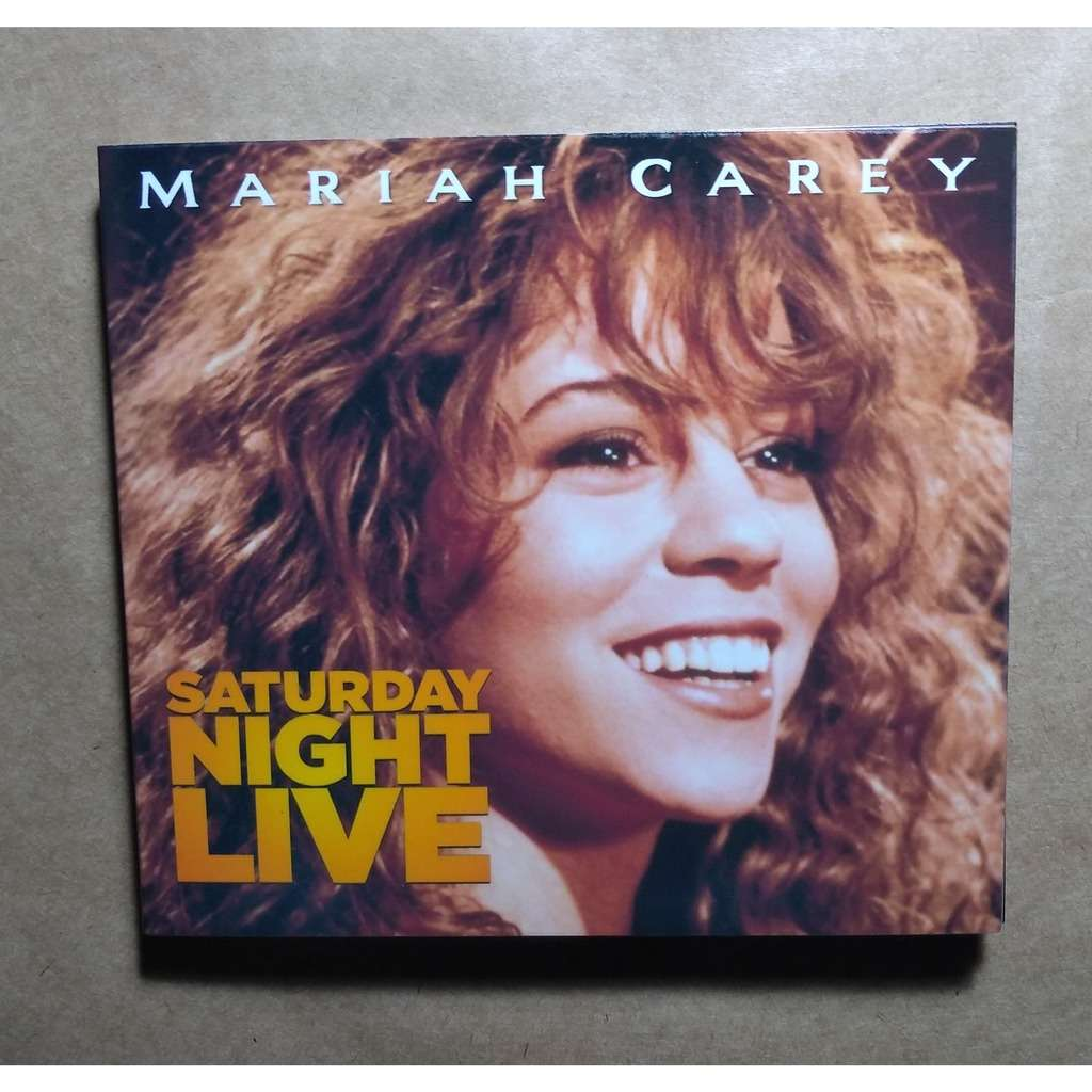 mariah carey Saturday Night Live (Brazil release 2018, very rare )