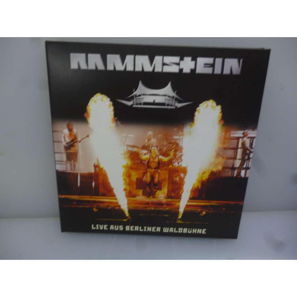 Rammstein Live Aus Berliner Waldbühne 2016. Waldbühne, Berlin, Germany 2016. EU 2019 2CD Digipack.