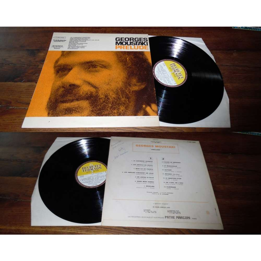 Georges Moustaki Prelude (With Versindex)