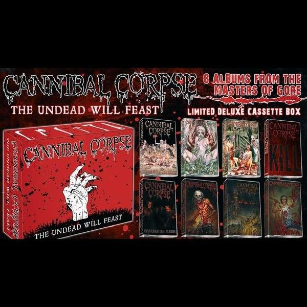 CANNIBAL CORPSE The Undead Will Feast