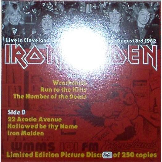 iron maiden Live In Cleveland (Ohio USA Richfield Coliseum 03.08.1982) (Ltd 250 no'd copies LP PDK)