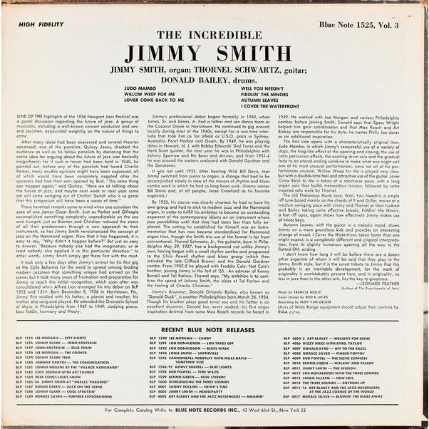JIMMY SMITH AT THE ORGAN