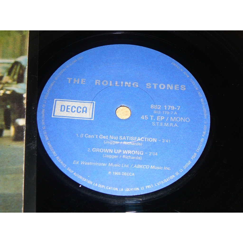 the rolling stones Satisfaction ( I can't Get No)
