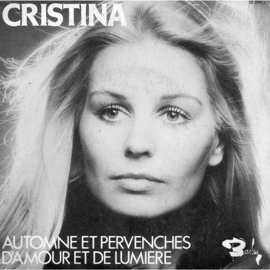 Cristina Automne et pervenches / D'amour et de lumiere