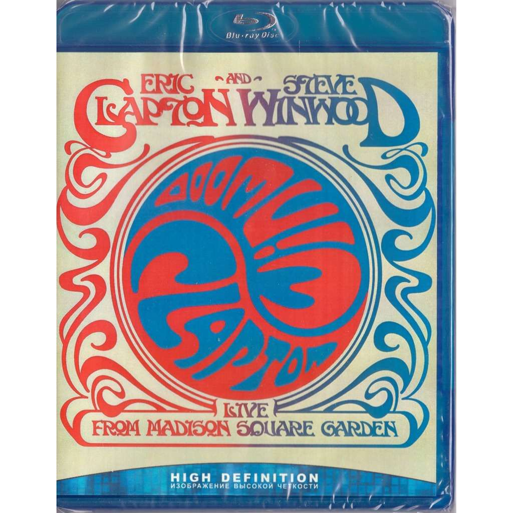 Eric Clapton & Steve Winwood Live From Madison Square Garden