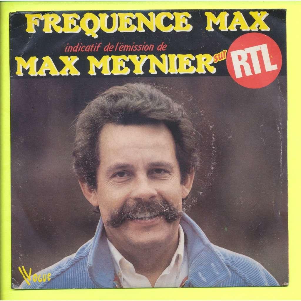 M. GARNIER - J. P. DUMAS - ( MAX MEYNIER ) indicatif de l'emission frequence max - max meynier