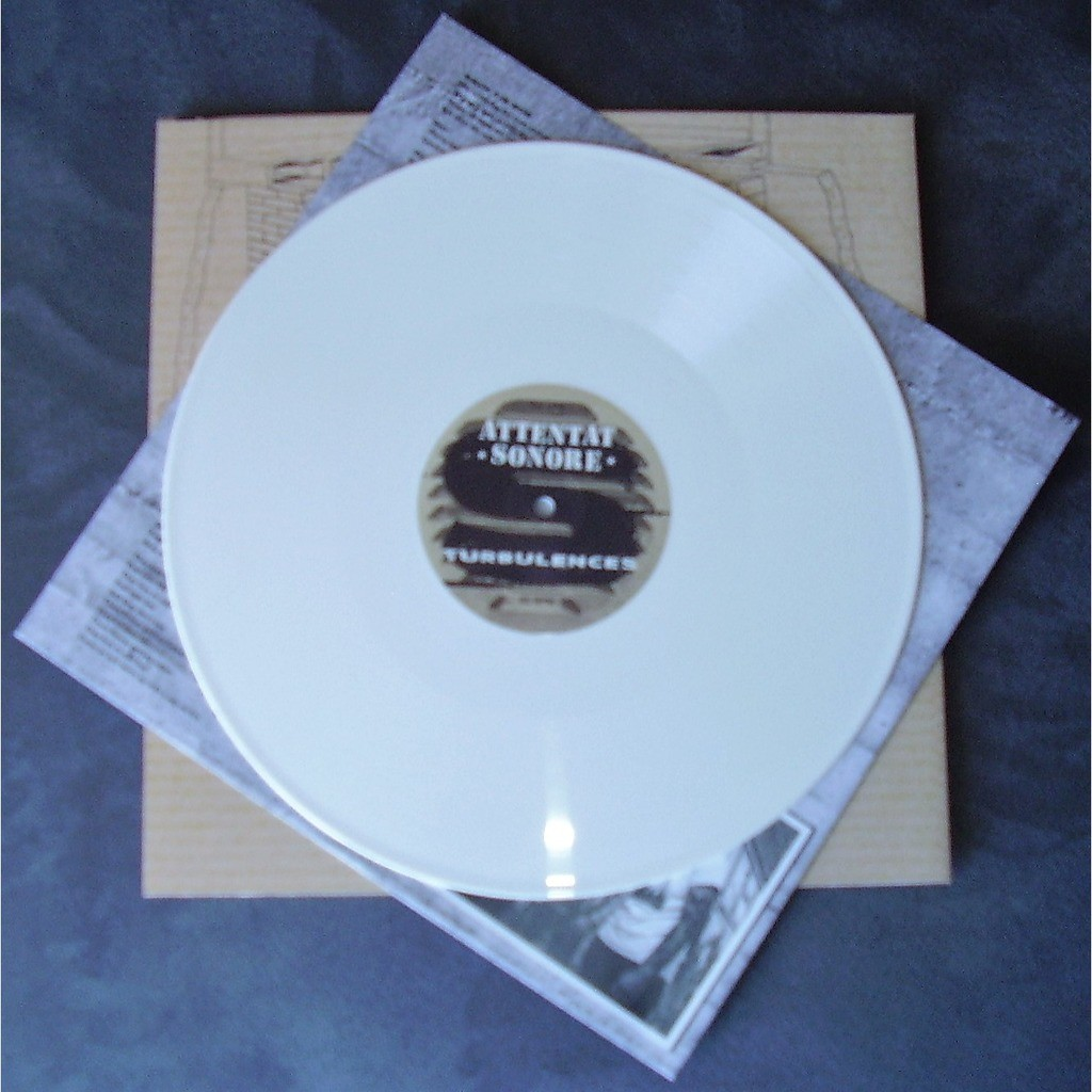 Attentat Sonore Turbulences (lp) Ltd Edit 500 Copies White Vinyl -Fr