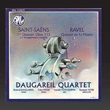 DAUGAREIL QUARTET SAINT-SAENS / RAVEL