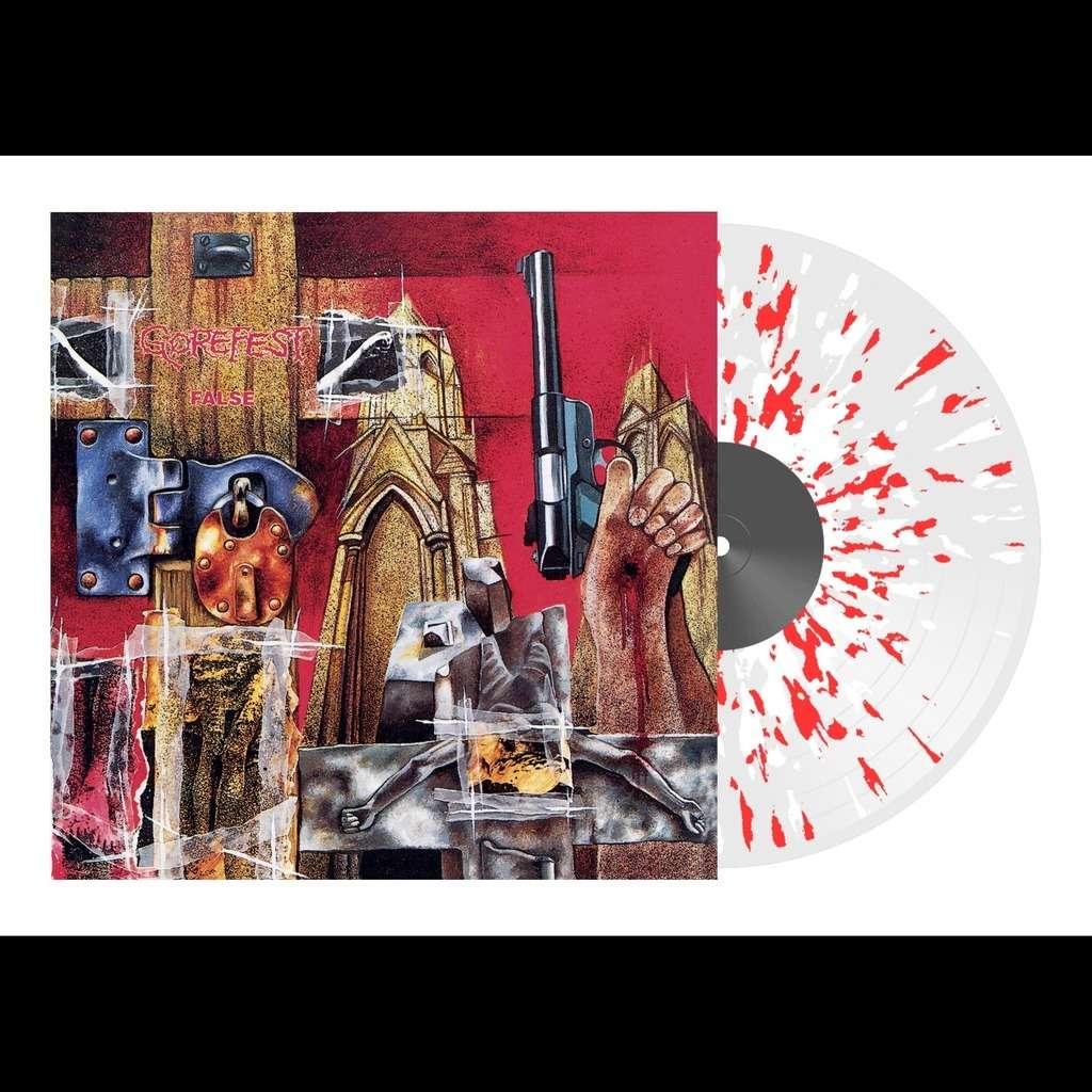 GOREFEST False. Splatter Vinyl