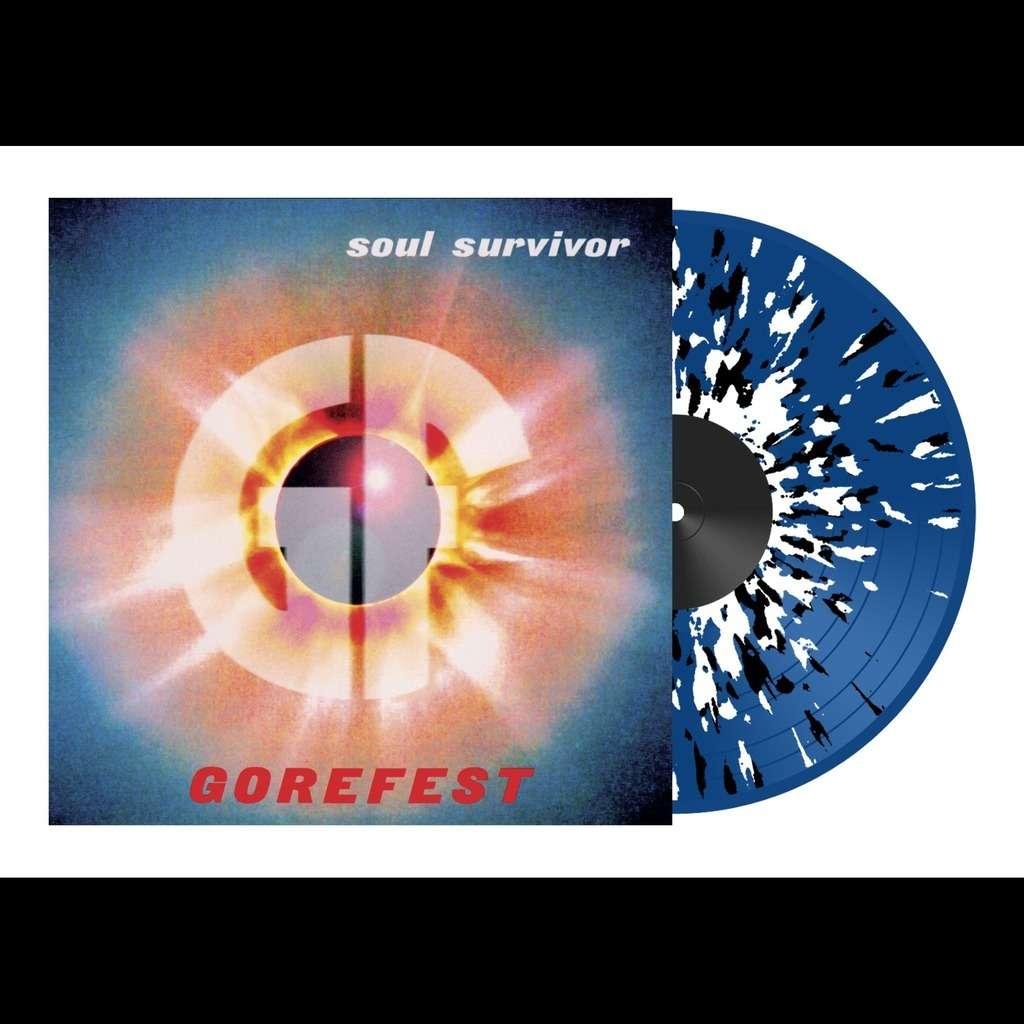 GOREFEST Soul Survivor. Splatter Vinyl