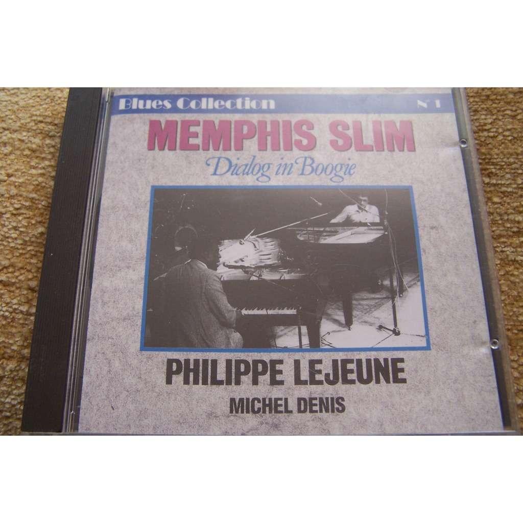 Memphis Slim, Philippe Lejeune, Michel Denis Dialog In Boogie