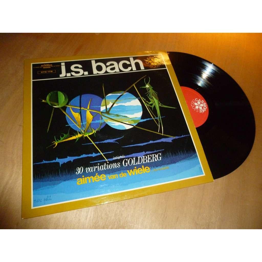 Aimée Van de Wiele Bach : Les Variations Goldberg BWV 988