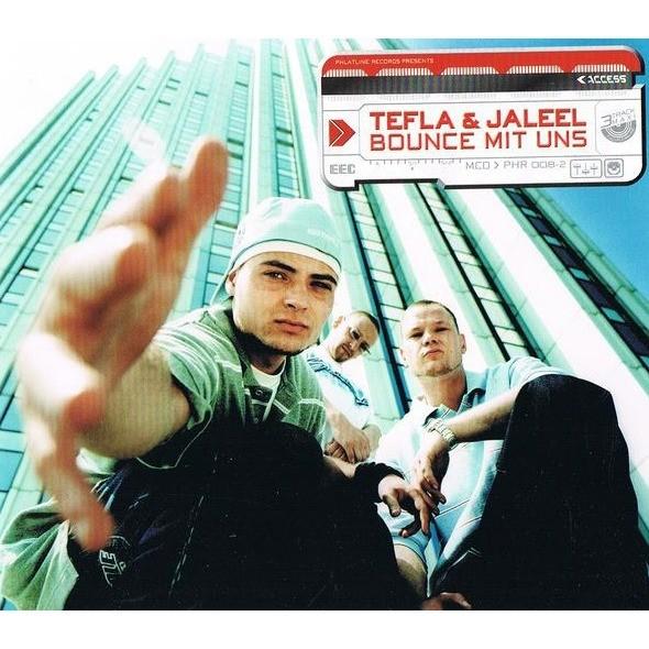 TEFLA & JALEEL bounce mit uns / instru. / wir sind rap / instru. / phlatline / instru.