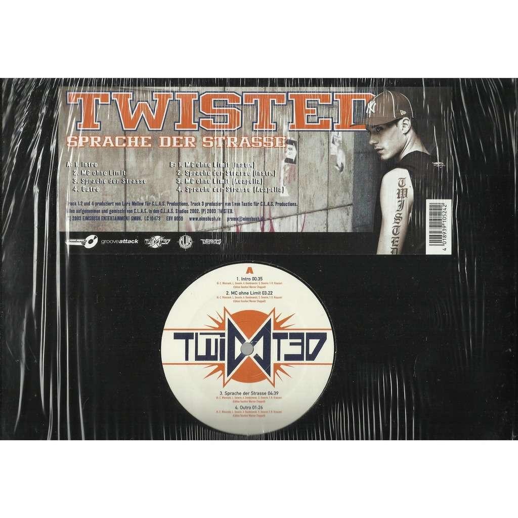 TWISTED sprache der strasse - e.p. 8 tracks