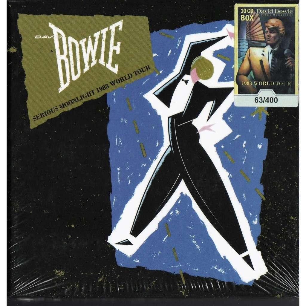 David Bowie Serious Moonlight 1983 World Tour (Ltd 400 no'd copies 10CD box+booklet!)