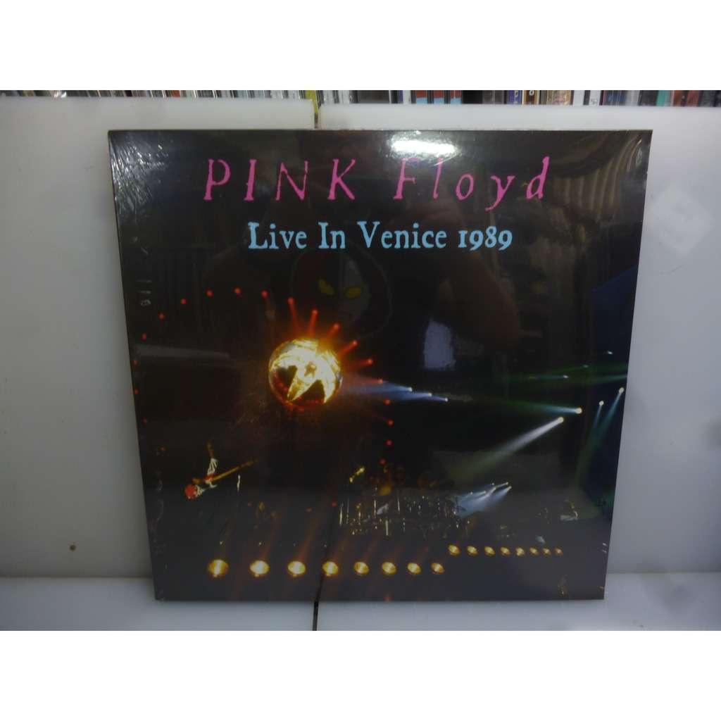 Pink Floyd Live In Venice 1989. Grand Canal, Venice, Italy 1989. EU 2019 2LP Vinyl.