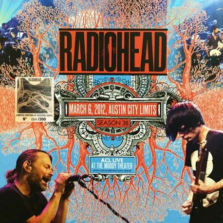 Radiohead Austin City Limits 2012 (lp) Ltd Edit 300 Copy Crystal Vinyl -E.U