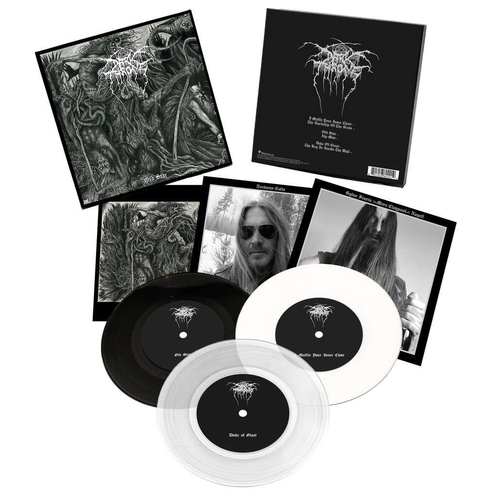 DARKTHRONE Old Star. 7'EP Set