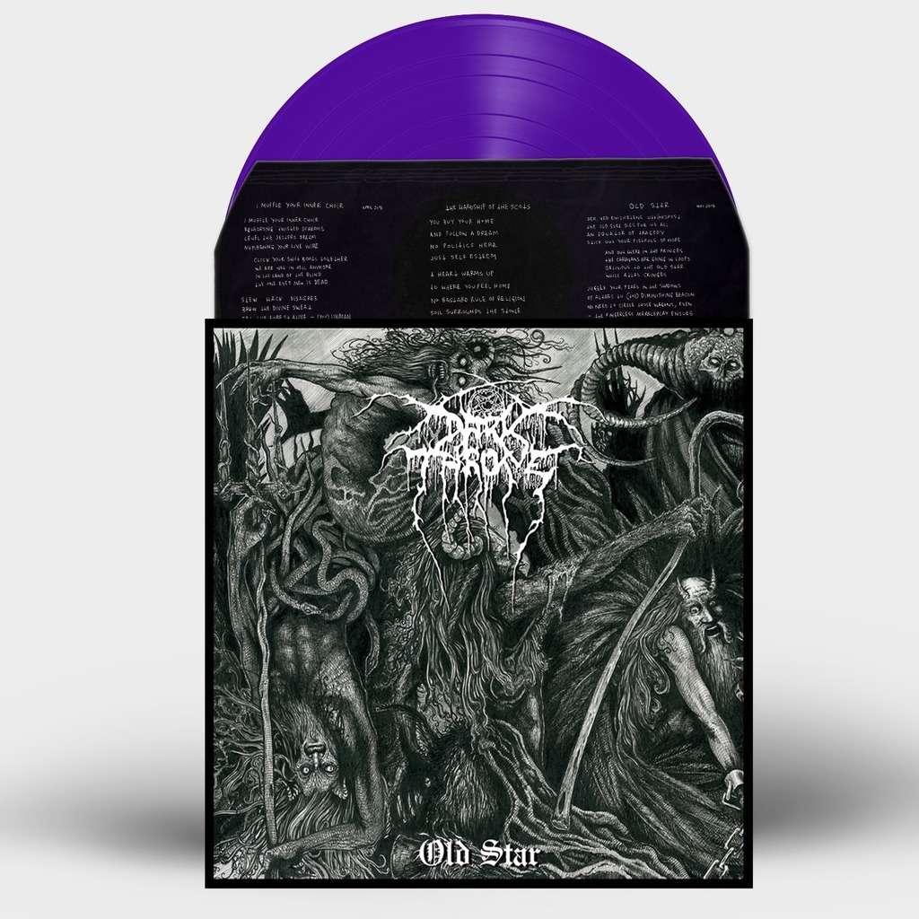 DARKTHRONE Old Star. Purple Vinyl