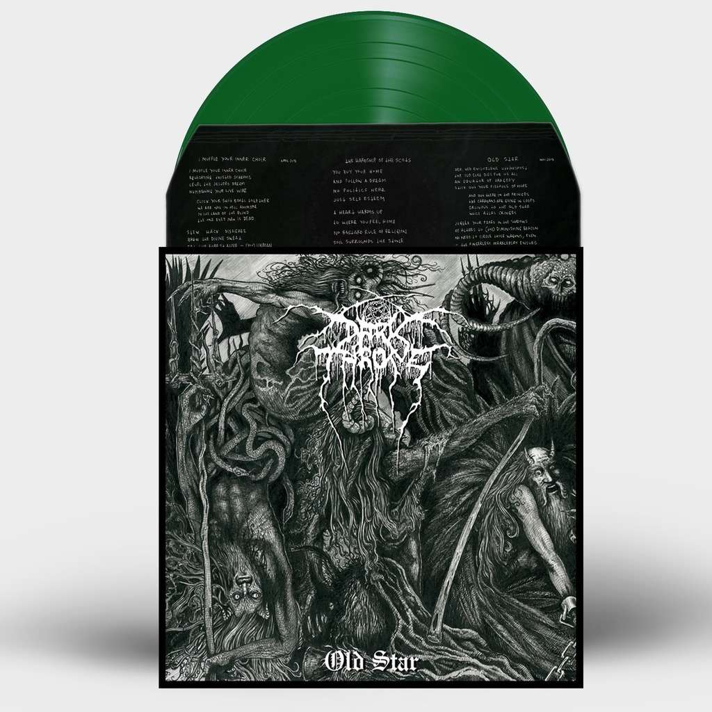 DARKTHRONE Old Star. Green Vinyl