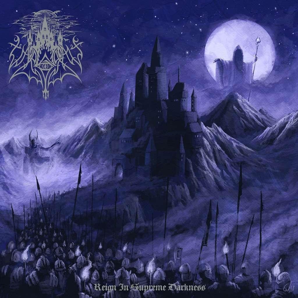 VARGRAV Reign in Supreme Darkness. Black Vinyl
