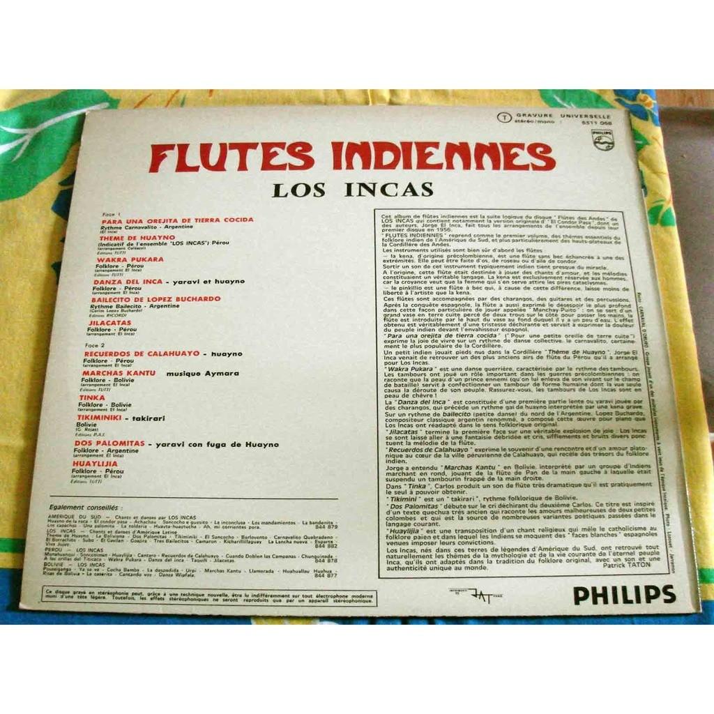 los incas flutes indiennes
