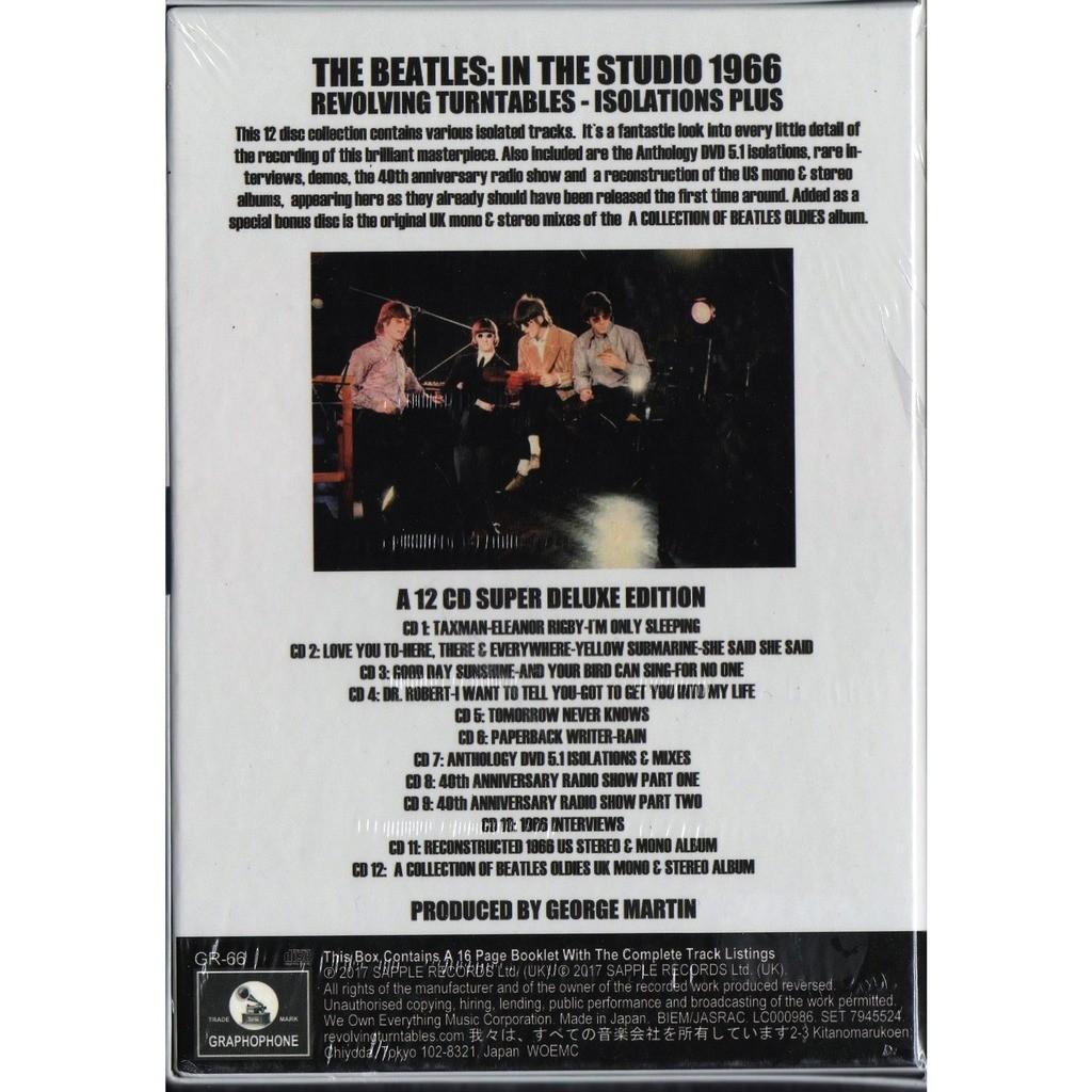 Beatles in the studio 1966 (revolving turntables - isolations plus) (ltd 350 no'd copies 12cd box+booklet!)