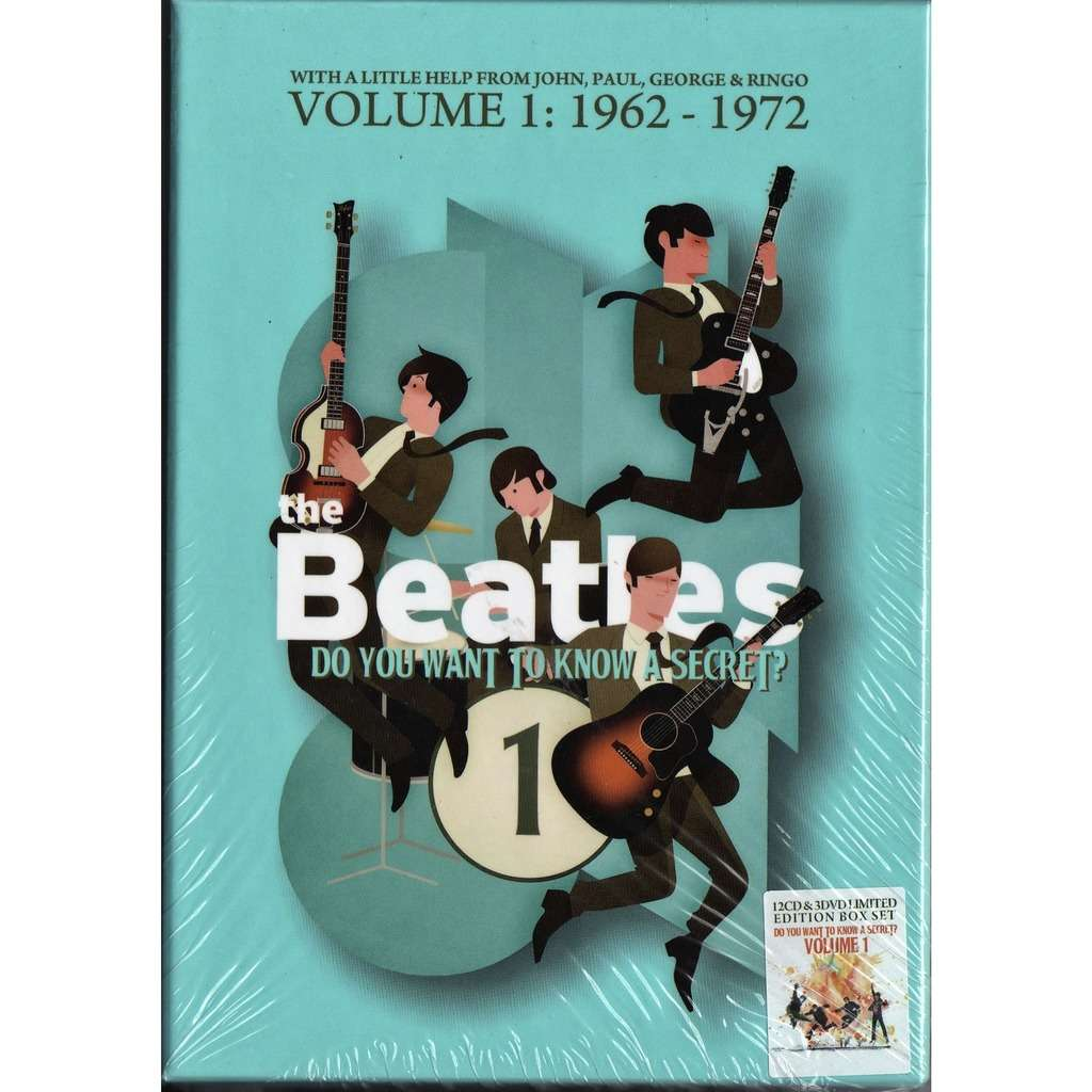 Beatles Do You Want To know A Secret? Vol.1 (1962-1972) (Ltd 400 copies 12CD+3DVD box+booklet!)